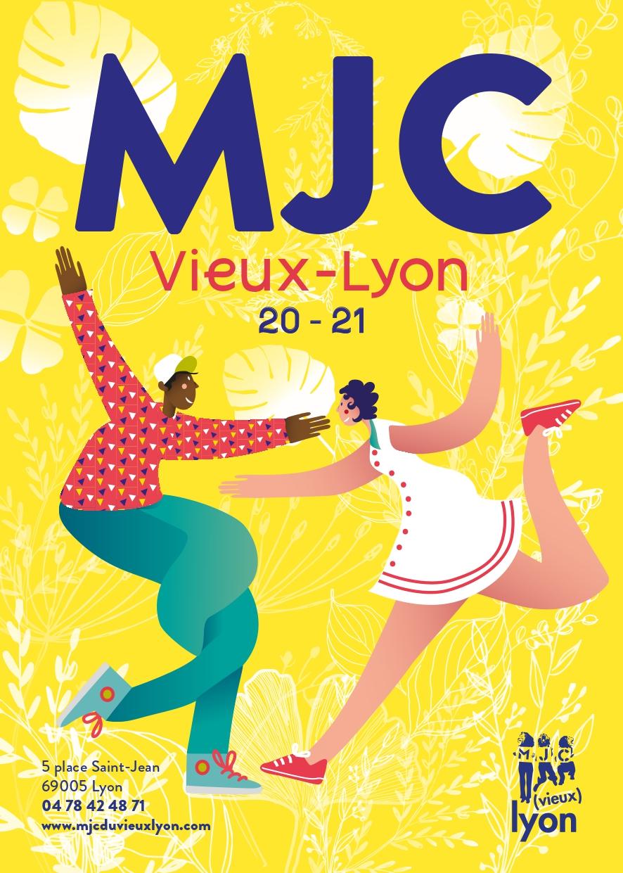 Plaquette activités MJC du Vieux Lyon 2020-21