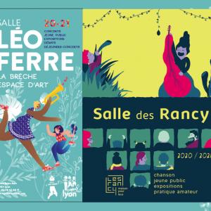 Présentation de saison culturelle Salle Léo Ferré & Salle des Rancy