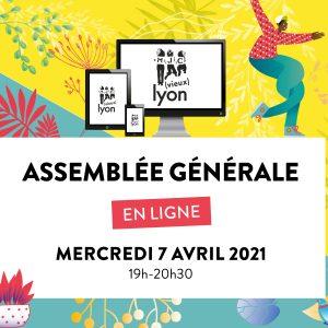 ACCÈS À L'AG EN LIGNE /// 19h