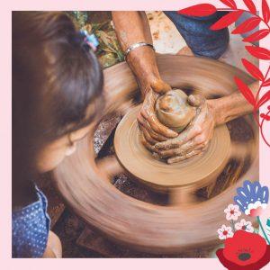 Terre à 4 mains – Atelier Parent-Enfant